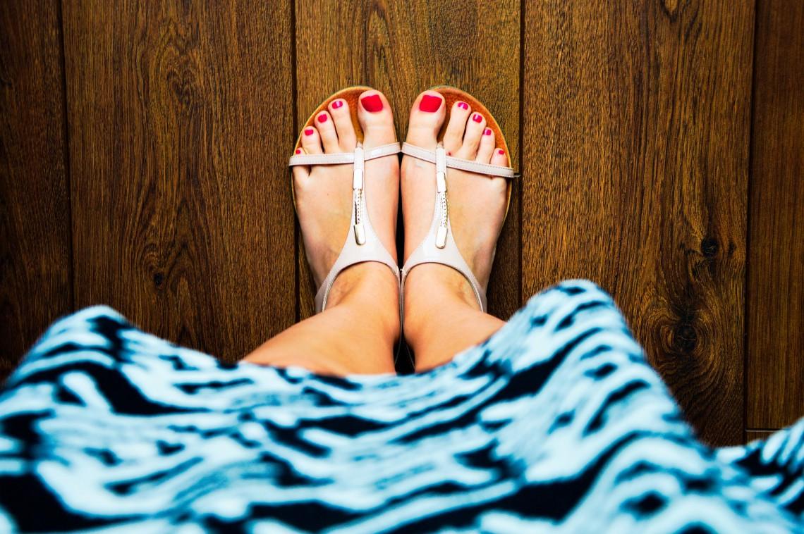 Obrzęki stóp i kostek w ciąży.